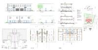 Grondplannen architect Hofmeierlaan 1 & 1a - Sint-Kruis