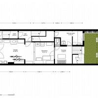 ETTBOE51 Plans 2D immeuble de rapport 3 appartements à ETTERBEEK