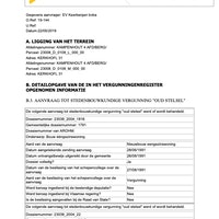 Uittreksel Vergunningensregister D108L