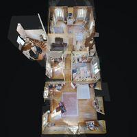 Vue 3D du 1er étage - Réf. 14012