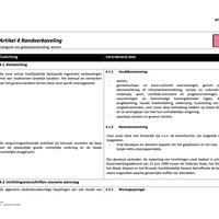 RUP Berglaan - Bouwvoorschriften