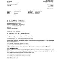 Bodemattest