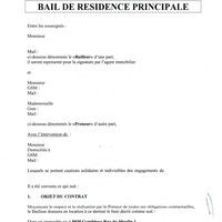 GBXMOU1 Bail en cours