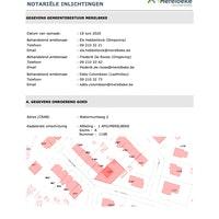 Stedenbouwkundige inlichtingen