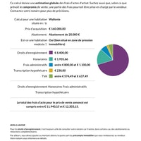 Calcule frais d'achat sur 160000€ - Notaire.be.pdf