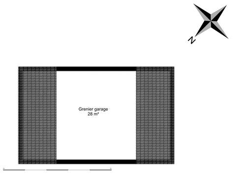 Grenier garage aménageable