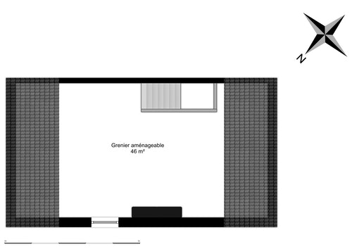 Grenier maison aménageable